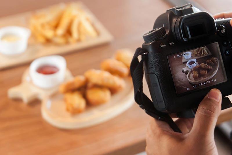 dịch vụ chụp ảnh món ăn