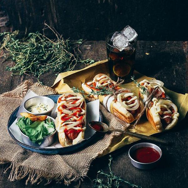 chụp ảnh món ăn